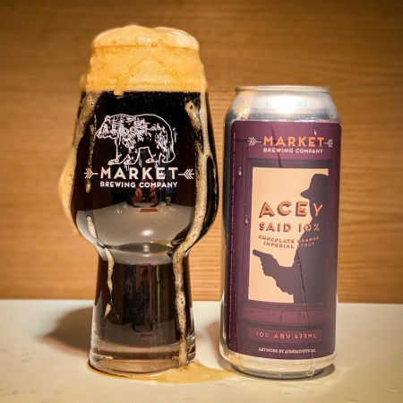 Market Brewing Releases Acey Said 10% Chocolate Orange Imperial Stout