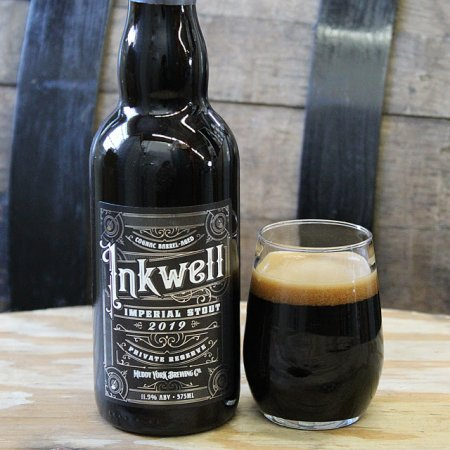 Muddy York Brewing Releases Cognac Barrel Edition of Inkwell Imperial Stout