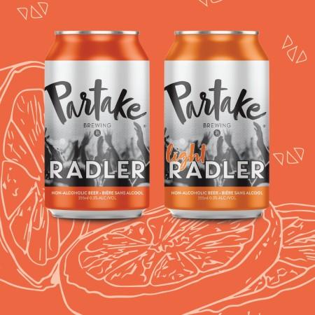 Partake Brewing Releases Radler and Light Radler