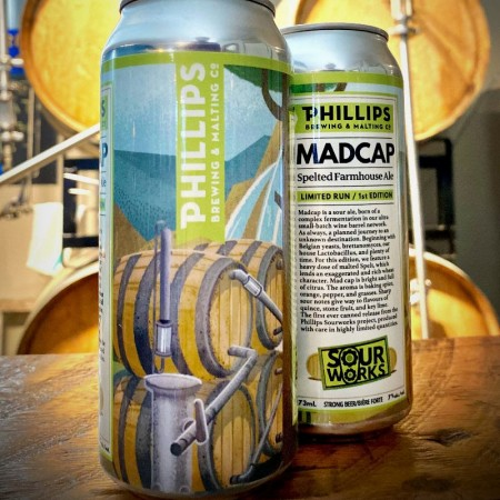 Phillips Brewing Releases Madcap Spelted Farmhouse Ale
