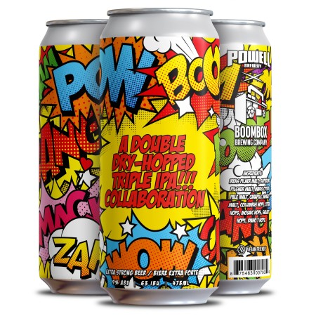 Powell Brewery and Boombox Brewing Release POWBOOM!! IPA