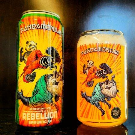 Rebellion Brewing Releases Pandamonium Golden Coconut Latte Ale
