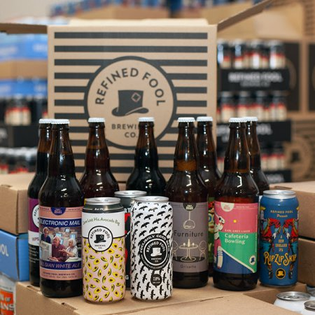 Refined Fool Brewing Launches Monthly Beer Subscription