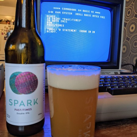 Spark Beer Releases Past/Times Double IPA