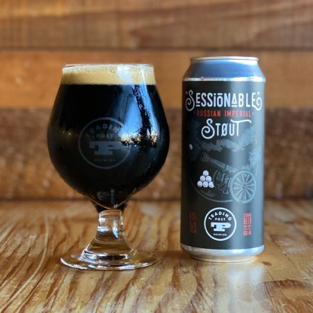 """Trading Post Brewing Releases """"Sessionable"""" Russian Imperial Stout"""