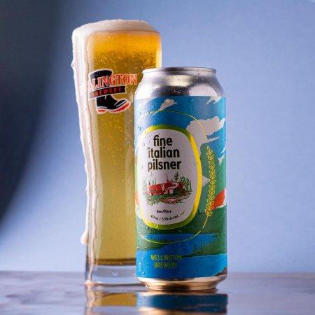 Wellington Brewery Releases Fine Italian Pilsner