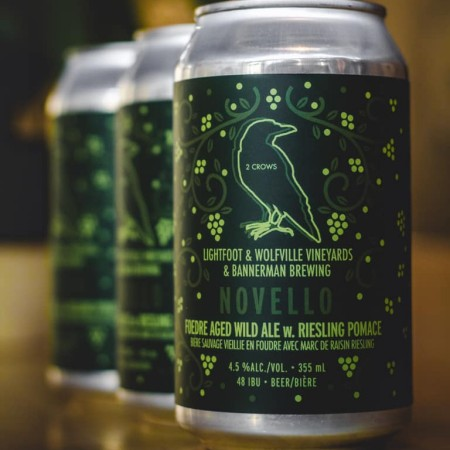 2 Crows Brewing Releases Novello and Colourful Language Foedre-Aged Ales