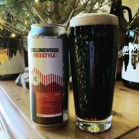 The Collingwood Brewery Freestyle Series Continues with Black Forest Porter