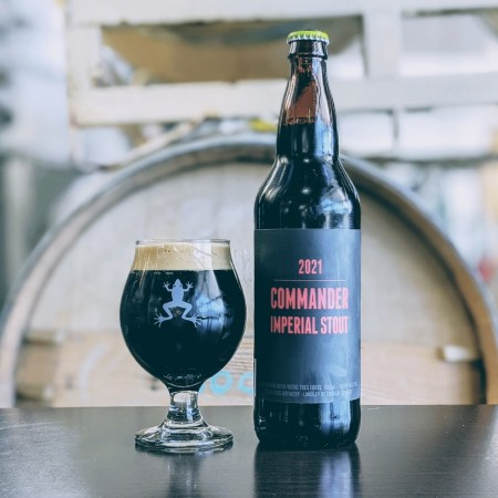 Dead Frog Brewery Releasing 2021 Vintage of Commander Imperial Stout
