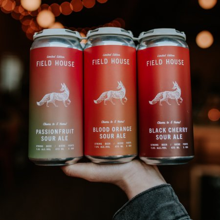 Field House Brewing Releases Sour Mix Six Pack for 5th Anniversary