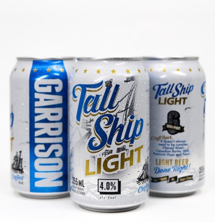 Garrison Brewing Releases Tall Ship Light Ale