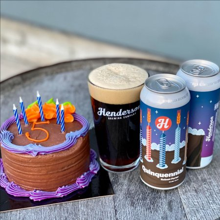 Henderson Brewing Releases Quinquennial Robust Porter