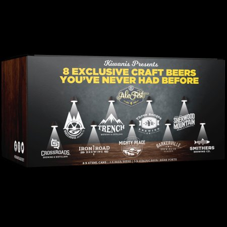 Kiwanis AleFest Releasing Pack of Exclusive Beers from Northern BC Breweries