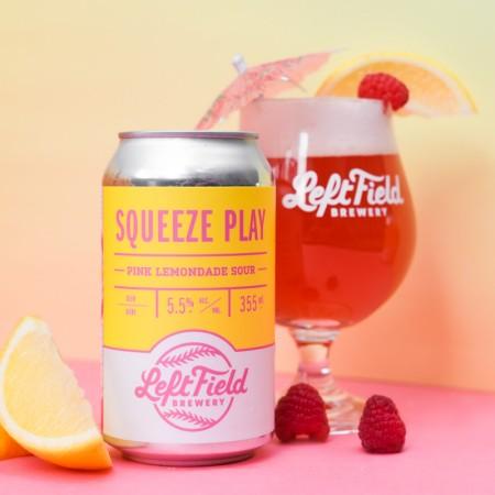 Left Field Brewery Brings Back Squeeze Play Pink Lemonade Sour