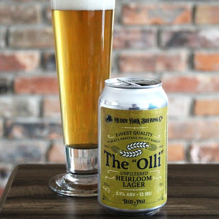 """Muddy York Brewing Brings Back The """"Olli"""" Unfiltered Lager"""