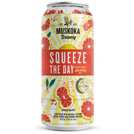 Muskoka Brewery Releases Squeeze The Day Grapefruit Sparkling Ale