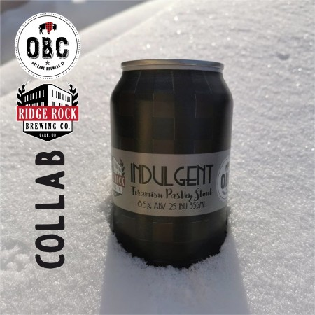 Orléans Brewing and Ridge Rock Brewing Release Indulgent Tiramisu Pastry Stout