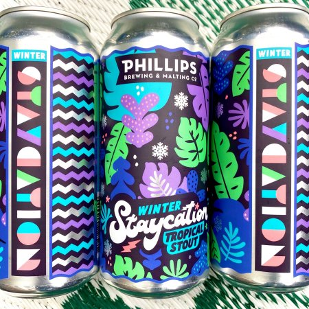 Phillips Brewing Releases Winter Staycation Tropical Stout