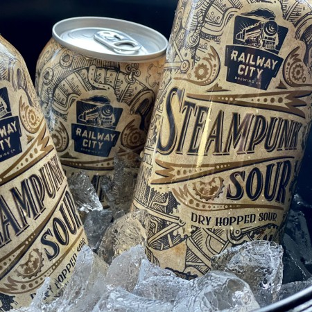 Railway City Brewing Brings Back Steampunk Dry Hopped Sour