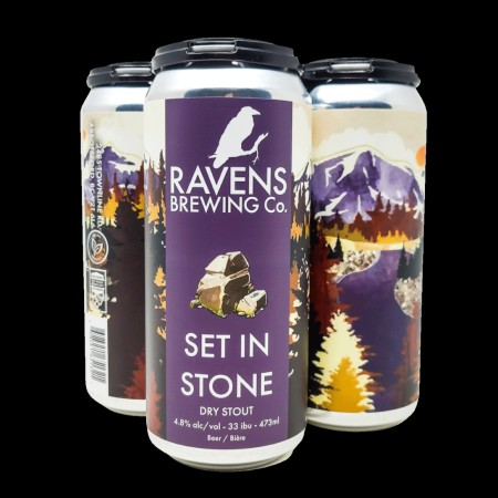 Ravens Brewing Releases Set In Stone Dry Stout