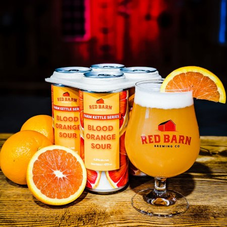 Red Barn BrewingLaunches Farm Kettle Series with Blood Orange Sour