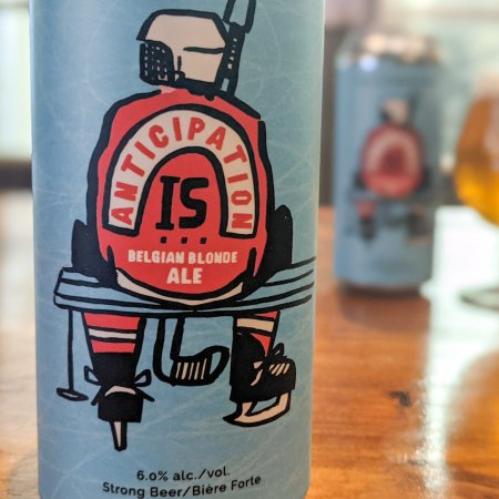 Sawdust City Brewing Releases Anticipation Is… Belgian Blonde Ale