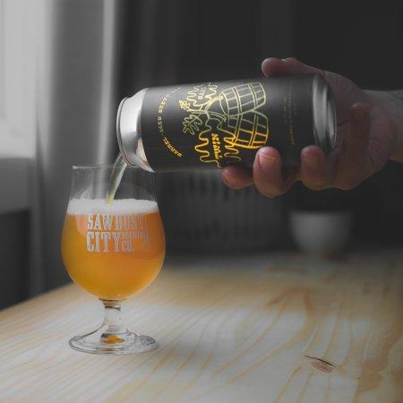 Sawdust City Brewing Releases Twin Oaks Barrel-Aged Brett Ale