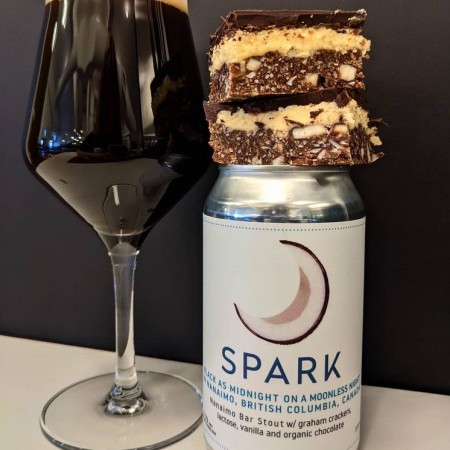 Spark Beer Releases Black as Midnight… Nanaimo Bar Stout