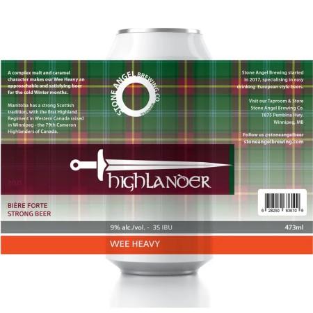 Stone Angel Brewing Brings Back Highlander Wee Heavy