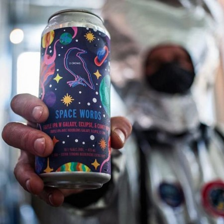 2 Crows Brewing Releases Space Words Triple IPA