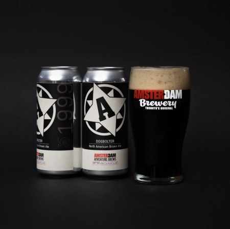 Amsterdam Brewery Launches 35th Anniversary Series with Dogbolter North American Brown Ale