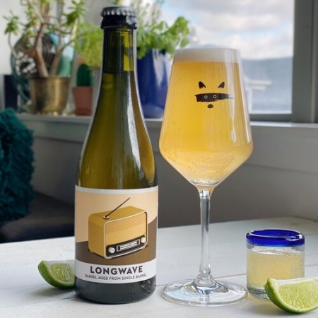 Bandit Brewery Releases Longwave 26.1 Tequila Barrel-Aged Gose