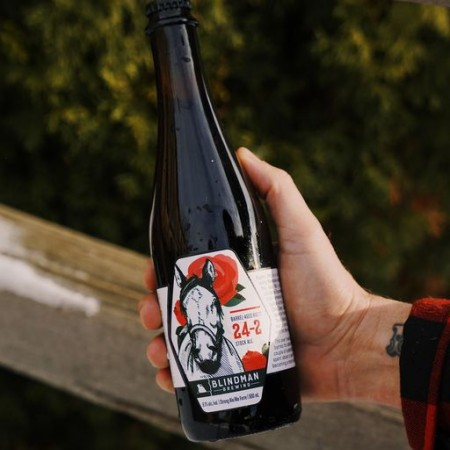 Blindman Brewing Brings Back Barrel-Aged Brett 24-2 Stock Ale