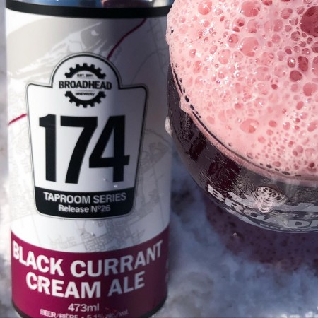 Broadhead Brewing Taproom 174 Series Continues with Black Currant Cream Ale