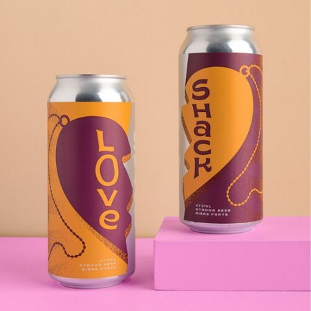 Cabin Brewing and Eighty-Eight Brewing Release Love Shack Hazy Passionfruit IPA