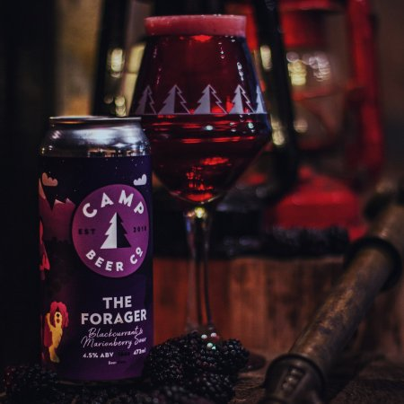 Camp Beer Co. Releases The Forager Blackcurrant & Marionberry Sour and Stargazer Hazy DIPA