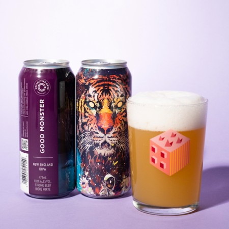 Collective Arts Brewing Adds Good Monster DIPA to Core Line-Up