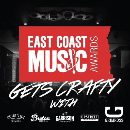 East Coast Music Association Announces Partnership with Five Atlantic Canada Breweries
