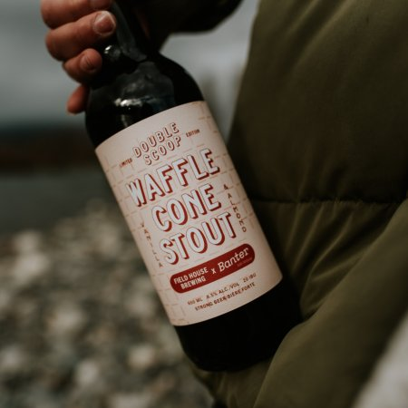 Field House Brewing and Banter Ice Cream Releasing Double Scoop Waffle Cone Stout
