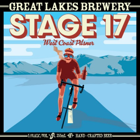 Great Lakes Brewery Releasing Stage 17 West Coast Pilsner