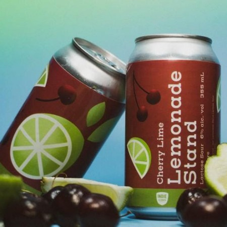 Indie Alehouse Releases Cherry Lime Lemonade Stand Sour Ale