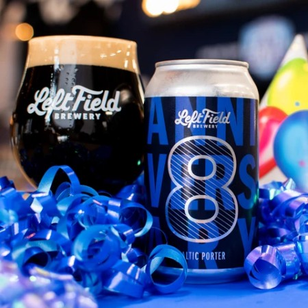 Left Field Brewery Releases Anniversary No. 8 Baltic Porter