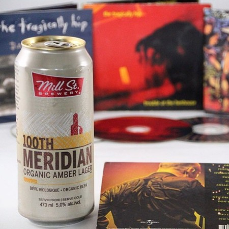 The Tragically Hip Suing Mill Street Brewery Over 100th Meridian Amber Lager