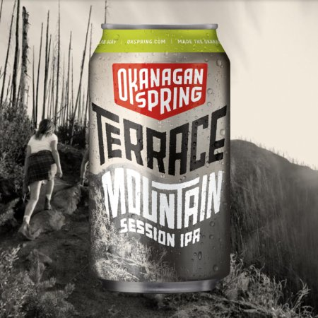 Okanagan Spring Brewery Releases Terrace Mountain Session IPA for Wildfire Prevention