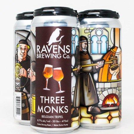Ravens Brewing Releases Three Monks Belgian Tripel