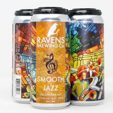 Ravens Brewing Releases Smooth Jazz Nelson Pale Ale