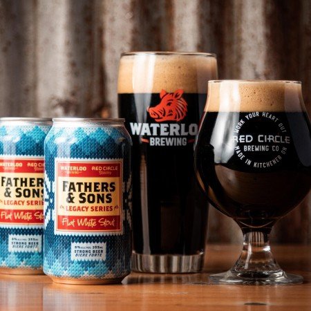 Red Circle Brewing and Waterloo Brewing Release Flat White Stout