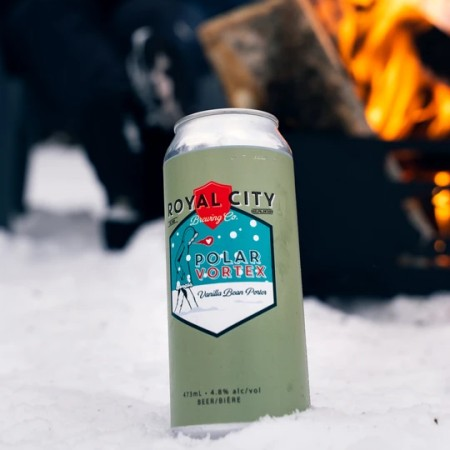 Royal City Brewing Brings Back Polar Vortex Vanilla Bean Porter