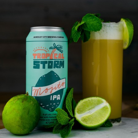 Sawdust City Brewing Releases Tropical Storm Mojito IPA and Binary System IIPA