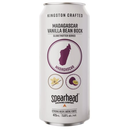 Spearhead Brewing Globetrotter Series Continues with Madagascar Vanilla Bean Bock